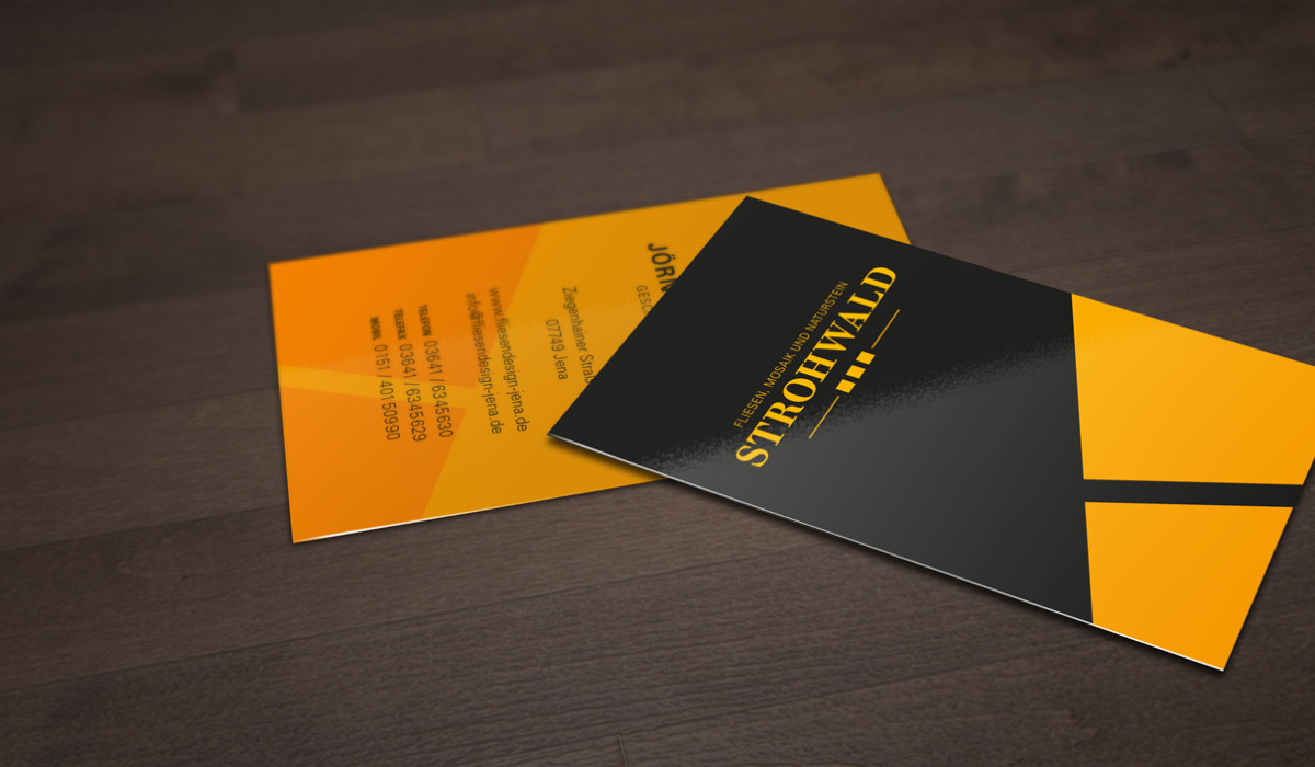 Strohwald, Logo + Corporate Design